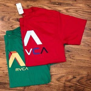 Men's RVCA T-Shirts Size Medium